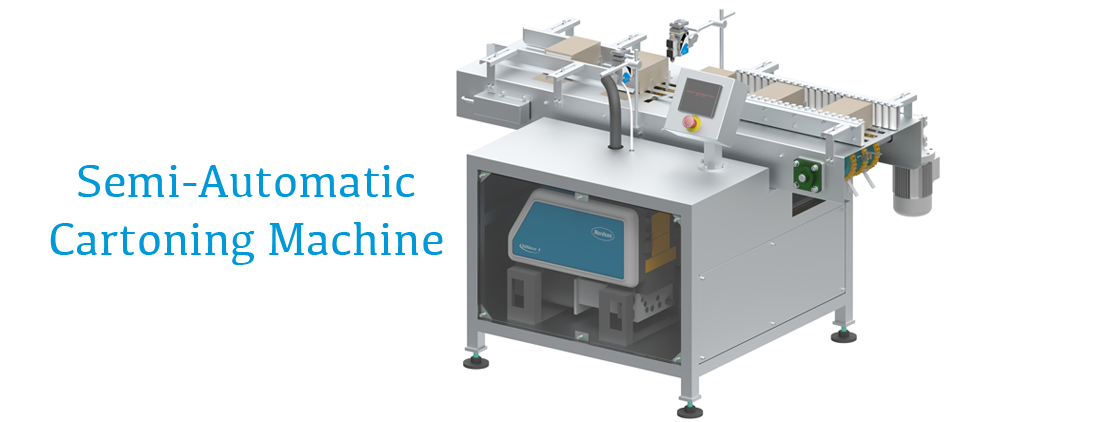 Semi Automatic Cartoning Machine | Mono Carton Packaging - Infinity  Automated Solutions
